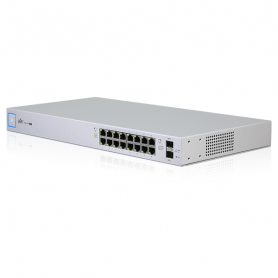 Ubiquiti UniFi Switch US-16-150W - Administreret - 16 x 10/100/1000 - 2 x Gigabit SFP - PoE