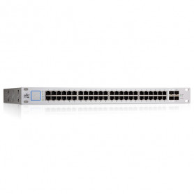 Ubiquiti UniFi Switch US-48-500W - Administreret - 48 x 10/100/1000 - 2 x Gigabit SFP - 2 x 10Gigabit SFP - PoE