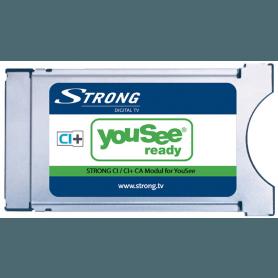 Strong YouSee godkendt CI+ CAM modul til DVB-C kabel TV